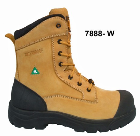 7888W Safety work boot CSA Premium wheat nubuck full grain leather