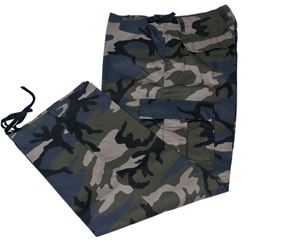 70-060W Multi color camo pants Camo cargo BigAl pants for worker
